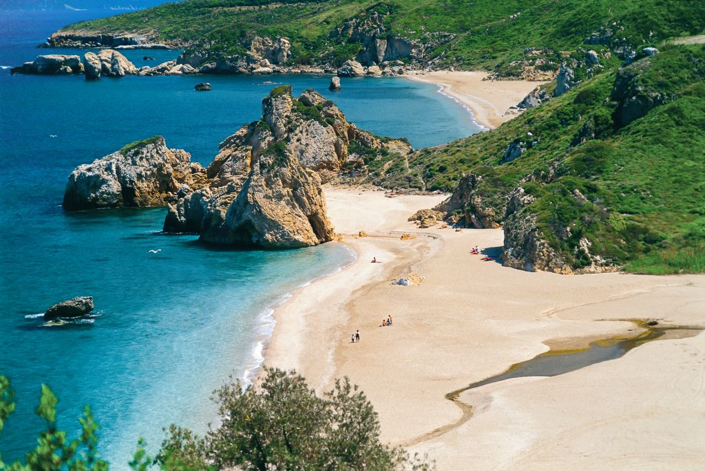 pelion beaches